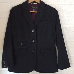 Eddie Bauers wool jacket